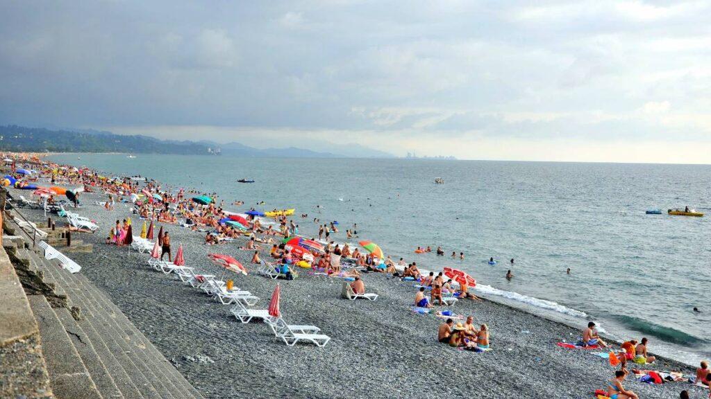 Кобулетский пляж